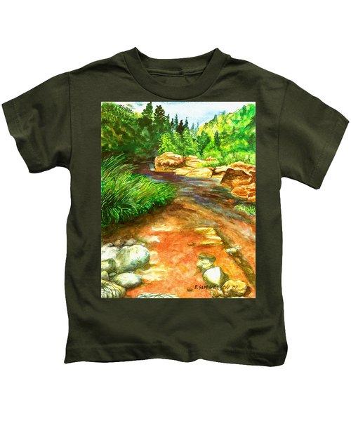 Oak Creek Red Kids T-Shirt