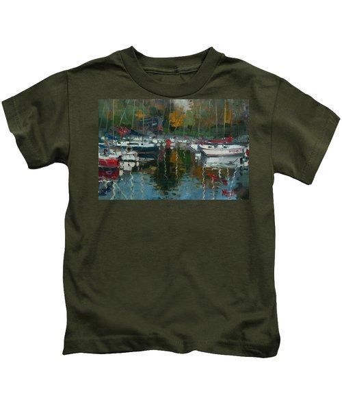 Oakville Harbour On Kids T-Shirt