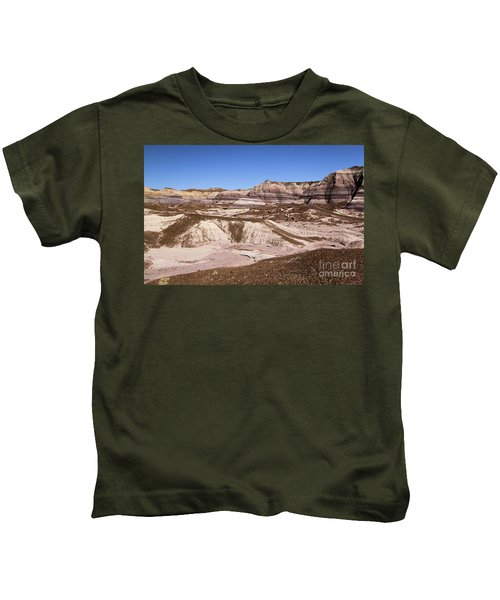Painted Desert Landscape Kids T-Shirt