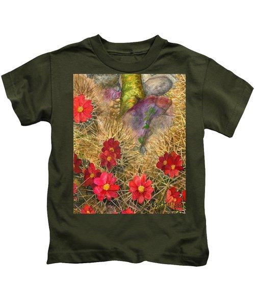 Palo Verde 'mong The Hedgehogs Kids T-Shirt