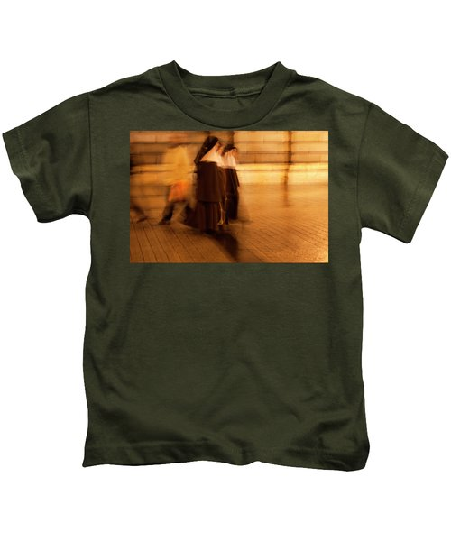 Piety In Motion Kids T-Shirt