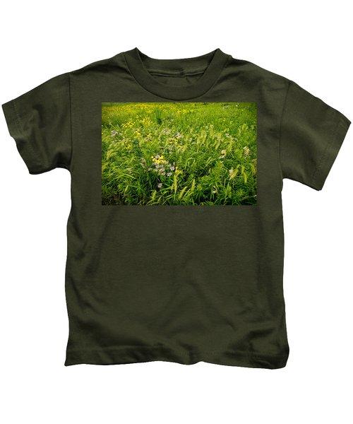Prairie Tapestry Kids T-Shirt