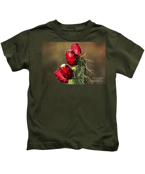 Prickley Pear Fruit Kids T-Shirt
