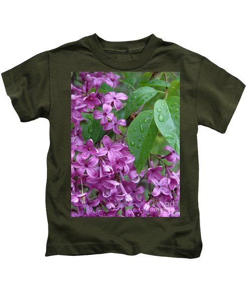 Purple Lilac Kids T-Shirt