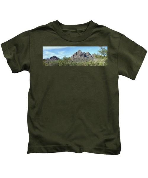 Ragged Top Mountain Panorama Kids T-Shirt