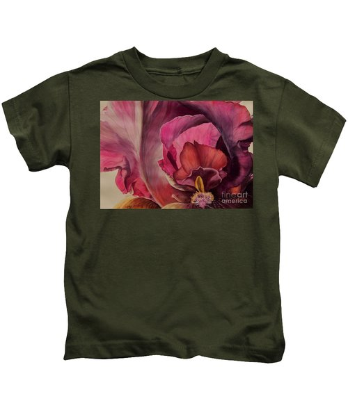 Red Explosion   Sold Kids T-Shirt