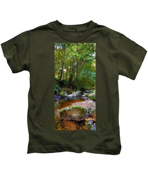 River In Cawdor Big Wood Kids T-Shirt