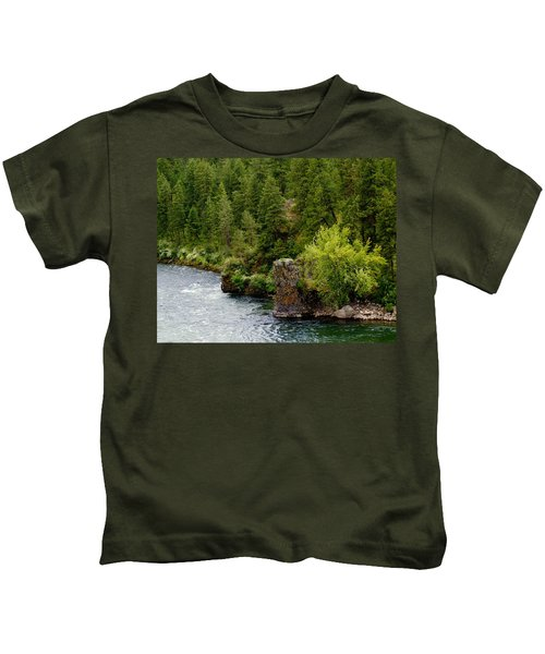 Rockin The Spokane River Kids T-Shirt