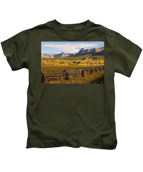 Rocky Mountain Ranch Kids T-Shirt