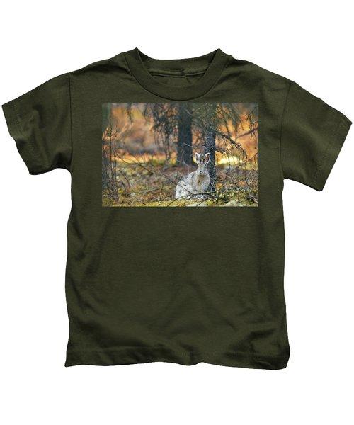 Snowshoe Hare Kids T-Shirt
