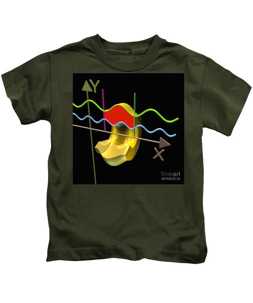 Solid Of Revolution 3 Kids T-Shirt