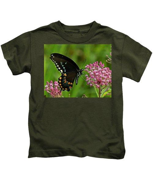 Spicebush Swallowtail Din039 Kids T-Shirt