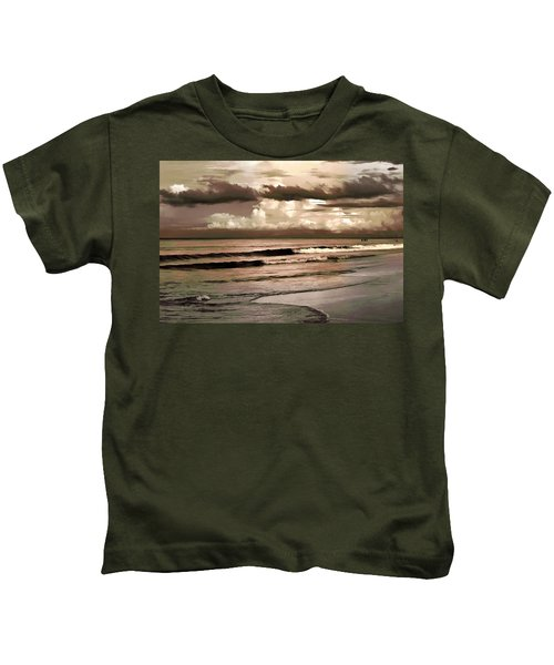 Summer Afternoon At The Beach Kids T-Shirt