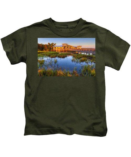 Sun Bathing Kids T-Shirt