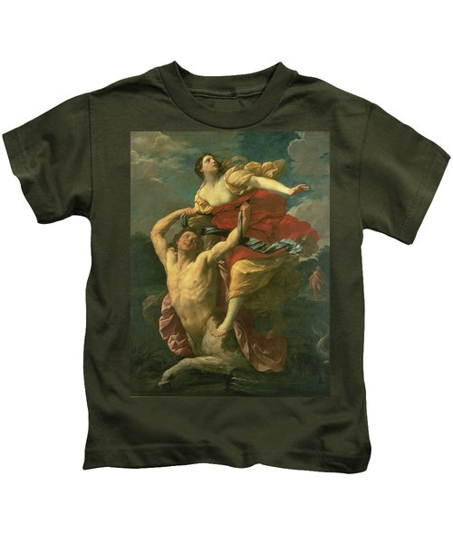 The Abduction Of Deianeira Kids T-Shirt by  Centaur Nessus