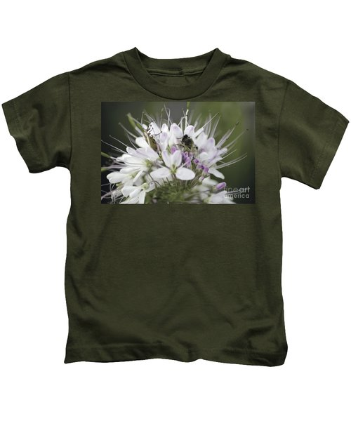The Beetle And The Bee Kids T-Shirt