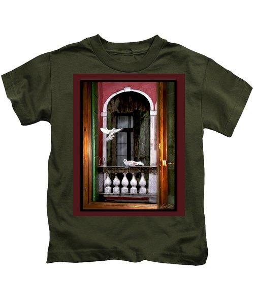Venice Window Kids T-Shirt