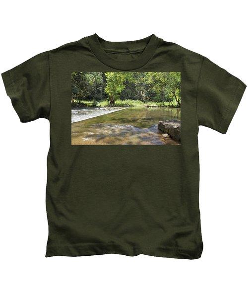 Water Over The Bridge Kids T-Shirt