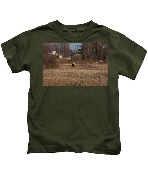Whitetail Deer Kids T-Shirt