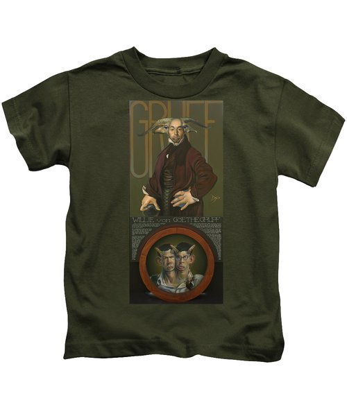 Willie Von Goethegrupf Kids T-Shirt