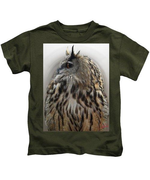 Wise Forest Owl Alicante Region Spain Kids T-Shirt