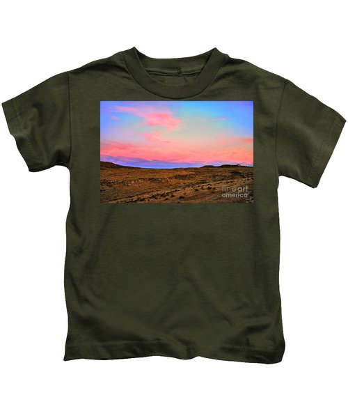 Wyoming Lights Kids T-Shirt