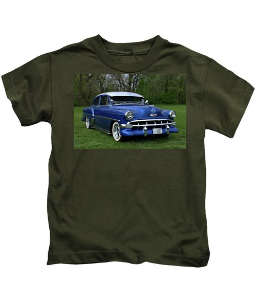 1954 Chevrolet Street Rod Kids T-Shirt