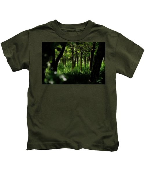 A Walk In The Woods Kids T-Shirt