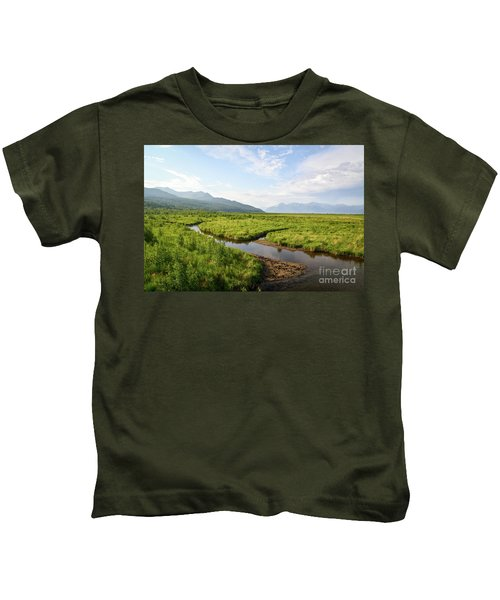 Alaskan Valley Kids T-Shirt