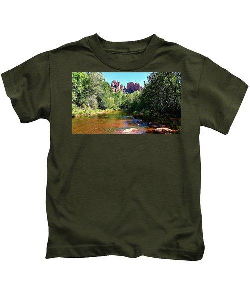 Cathedral Rock - Sedona, Arizona Kids T-Shirt
