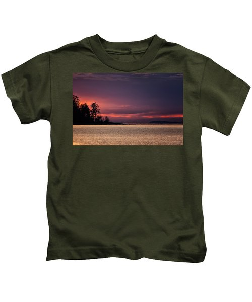 Craig Bay Sunset Kids T-Shirt