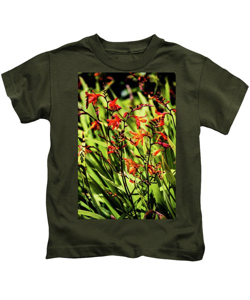 Crocosmia Kids T-Shirt