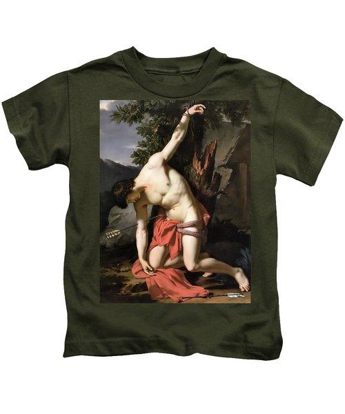 Death Of Saint Sebasian Kids T-Shirt