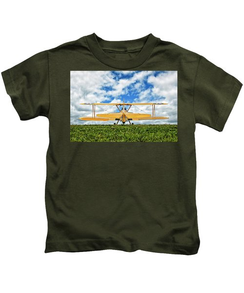 Dreaming Of Flight Kids T-Shirt