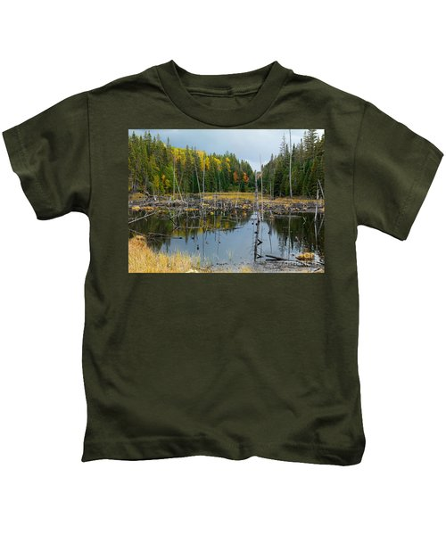 Drowned Trees Kids T-Shirt