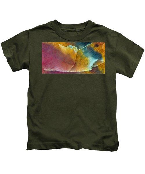 Earth Portrait 001 Kids T-Shirt