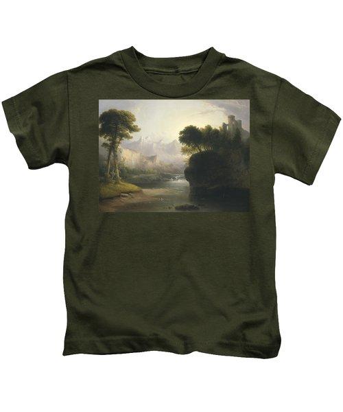 Fanciful Landscape Kids T-Shirt