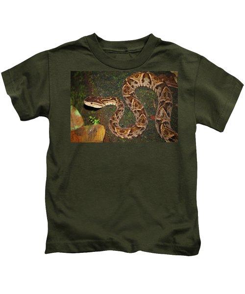 Fer-de-lance, Bothrops Asper Kids T-Shirt