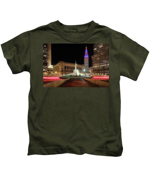 Fountain Of Eternal Life Kids T-Shirt