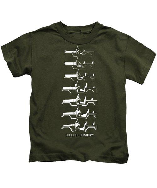 General Purpose Silhouettehistory Kids T-Shirt