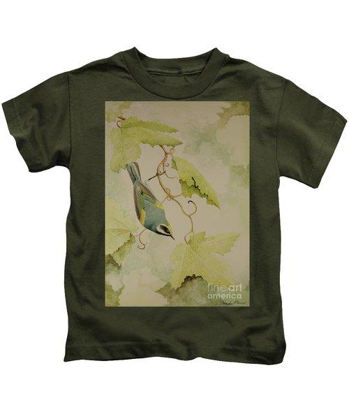 Golden-winged Warbler Kids T-Shirt