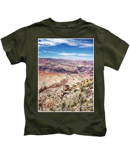 Grand Canyon View From The South Rim, Arizona Kids T-Shirt