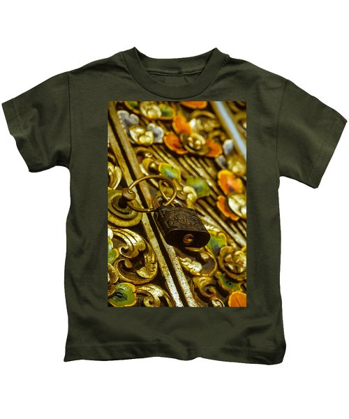 Hand Carved Security Kids T-Shirt