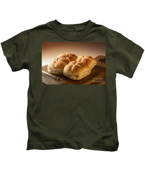 Hot Cross Buns Kids T-Shirt