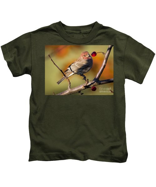 House Finch Kids T-Shirt