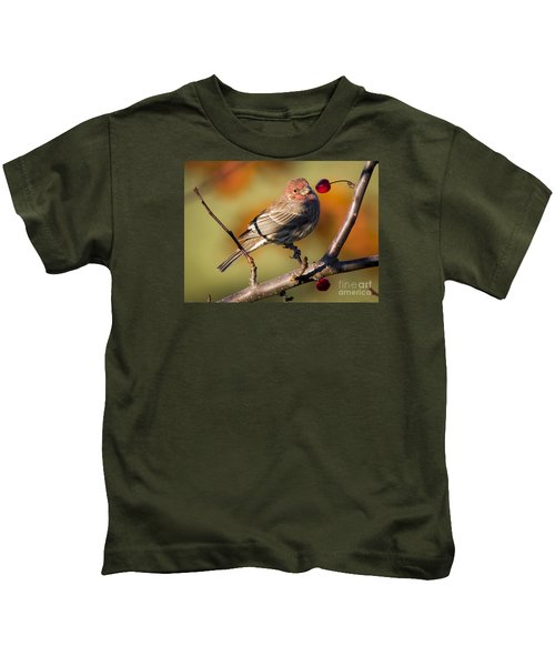 House Finch Kids T-Shirt