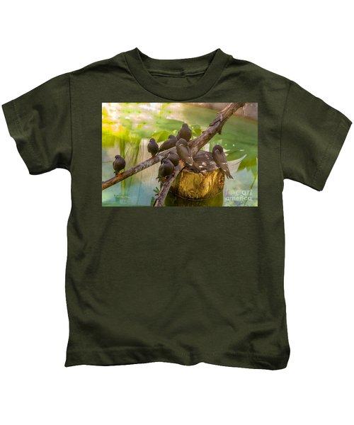 Inca Terns Kids T-Shirt
