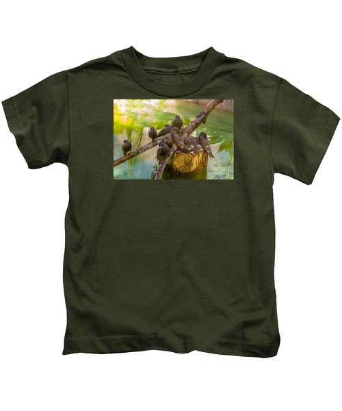 Inca Terns Kids T-Shirt