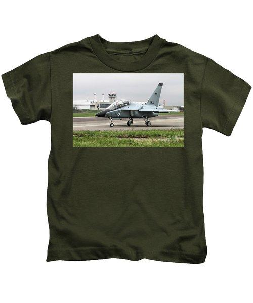 Israeli Air Force Alenia Aermacchi M-346 Master Kids T-Shirt