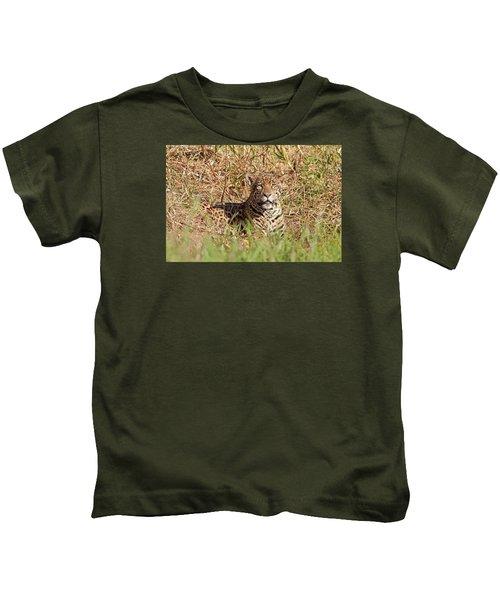 Jaguar Watching Kids T-Shirt